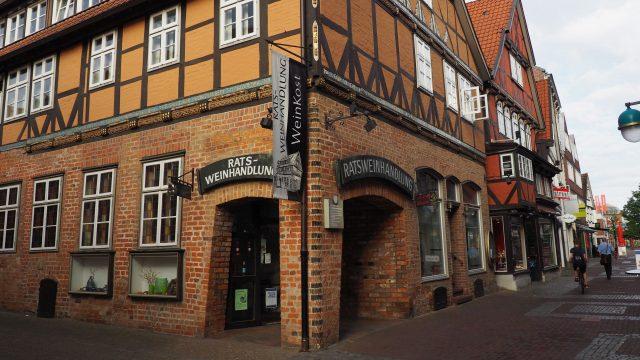 Die Ratsweinhandlung in der Hansestadt Uelzen