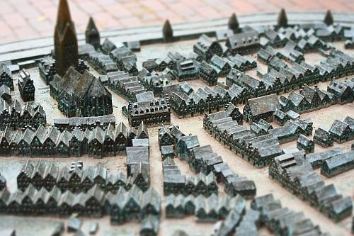 Das Stadtrelief von Uelzen