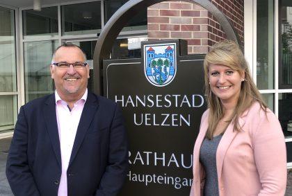 Das Team des Stadtmarketing Uelzen