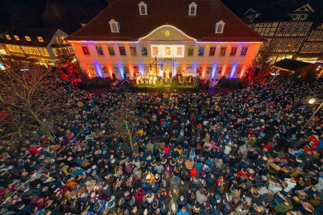 Das Finale beim großen Uelzener Adventskalender am 23. Dezember © Huchthausen