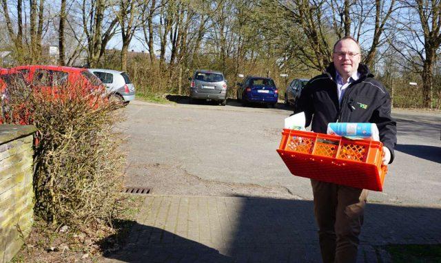 Der besondere Lieferdienst des Stadtmarketings Uelzen © Hansestadt Uelzen