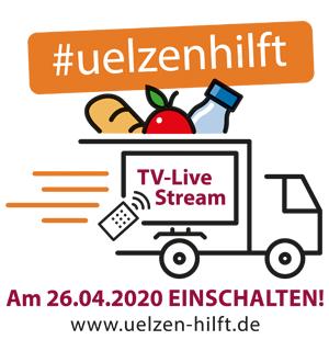 Uelzen-hilft - live im Fernsehen