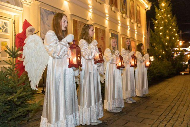 Weihnachtsengel in Uelzen  (c) Huchthausen