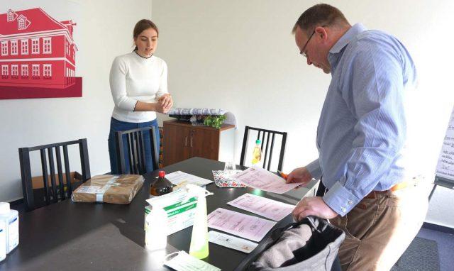 Organisation des Lieferservices © Hansestadt Uelzen