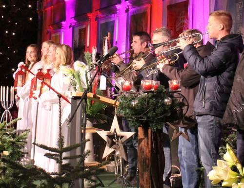 Engel u Trompeter 2019 (c) Hansestadt Uelzen